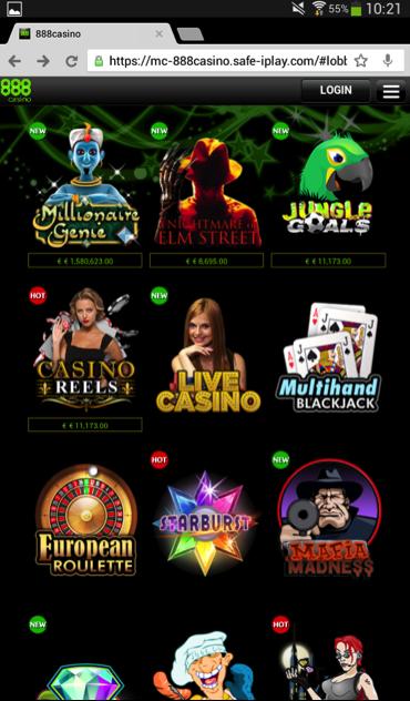 888.com mobile casino