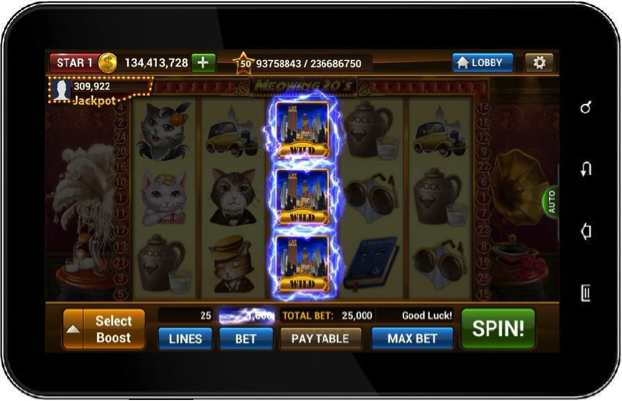 slot games for android tablet